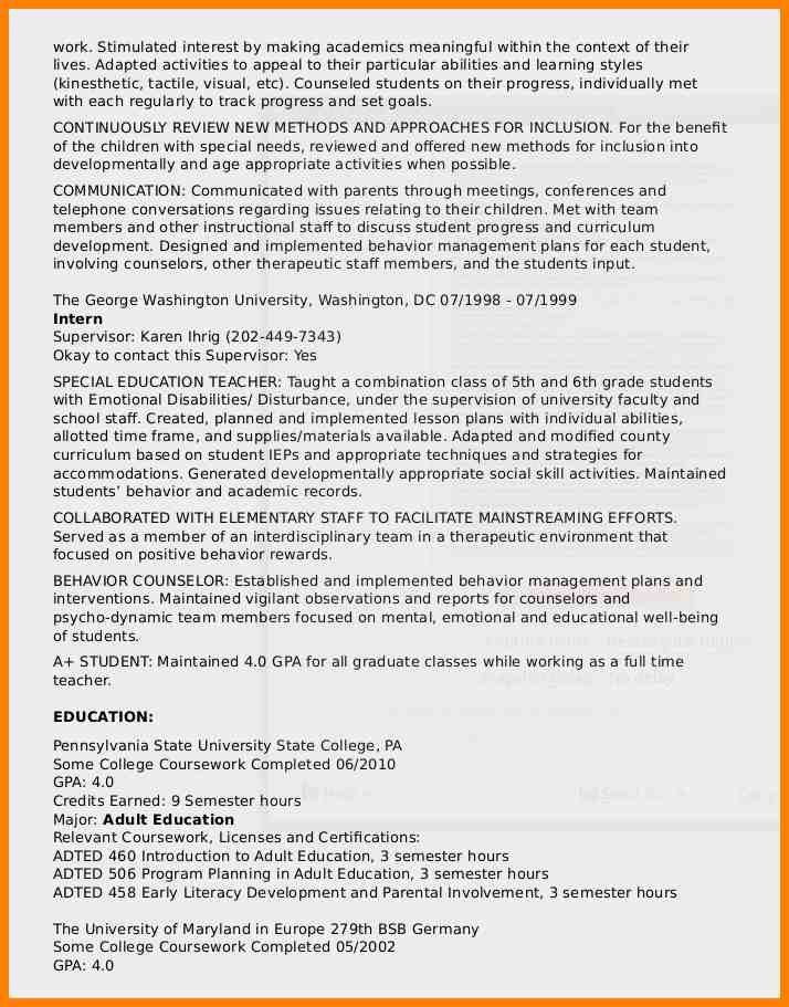 100+ Usa Jobs Sample Resume - Curriculum Vitae Resume Template For ...