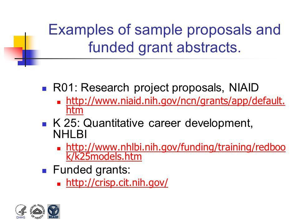 NIH Grant Mechanisms and Funding Process - ppt video online download