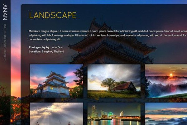 23 Mind-Blowing Photography Website Templates