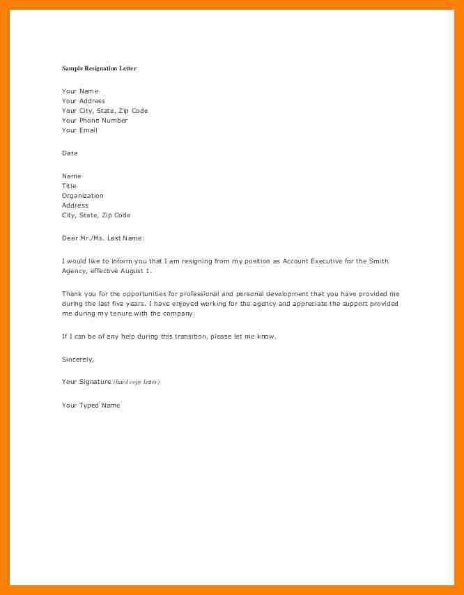 5+ nursing letters of resignation | packaging clerks