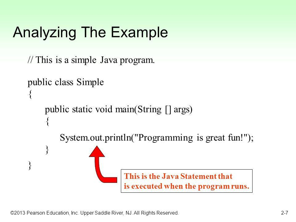 Chapter 2: Java Fundamentals - ppt download