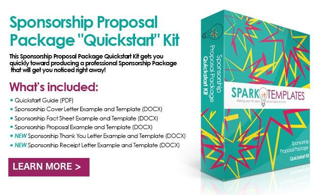 Sponsorship Package Examples