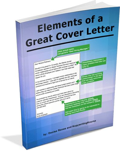 How To Write a Good Cover Letter for a Job :: Kopywriting Kourse