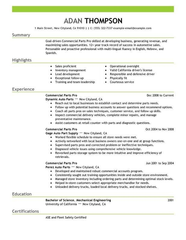 top 8 parts manager resume samples. production manager resume 11 ...