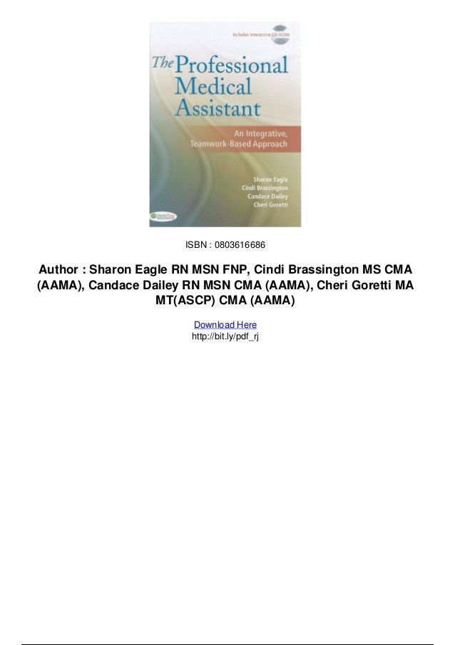 The professional medical assistant an integrative teamwork based appr…