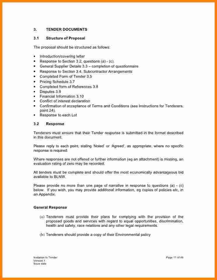 10+ invitation to tender letter | ledger paper