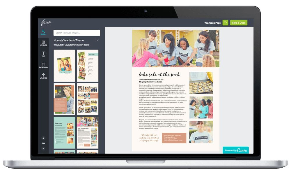 Hundreds of Free Yearbook Templates – 100% Customizable. - Fusion ...