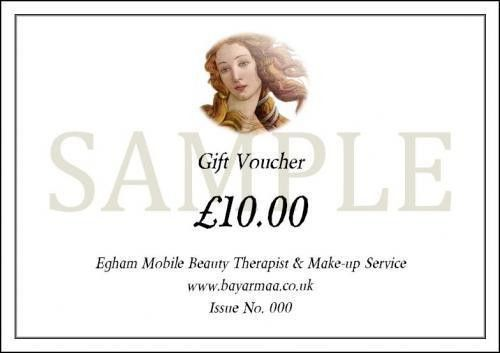 Egham Mobile Beauty Therapist & Make-Up Service. Mobile: 07841 031 ...