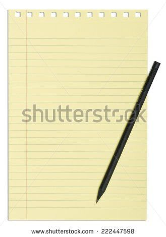 Yellow Notepad Stock Images, Royalty-Free Images & Vectors ...