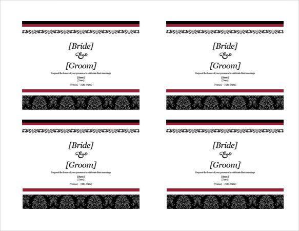 16+ Free Printable Invitation Templates MS Word Download | Free ...