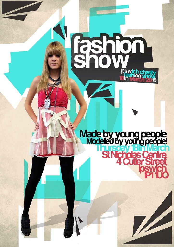 Poster Design | Charity fashion show | Flickr