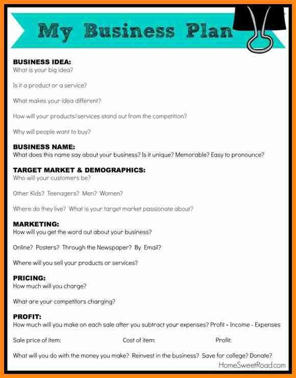 8+ simple business plan template | model resumed