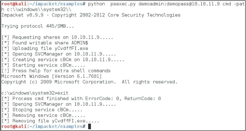 SANS Penetration Testing | Psexec Python Rocks! | SANS Institute