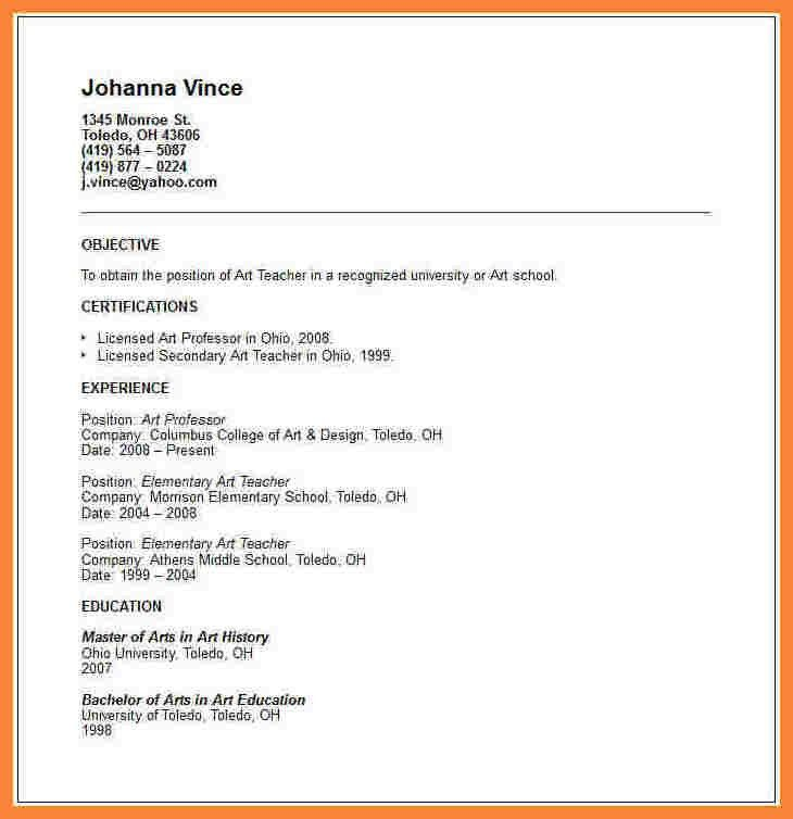 12+ how to make cv for teaching job   Bussines Proposal 2017