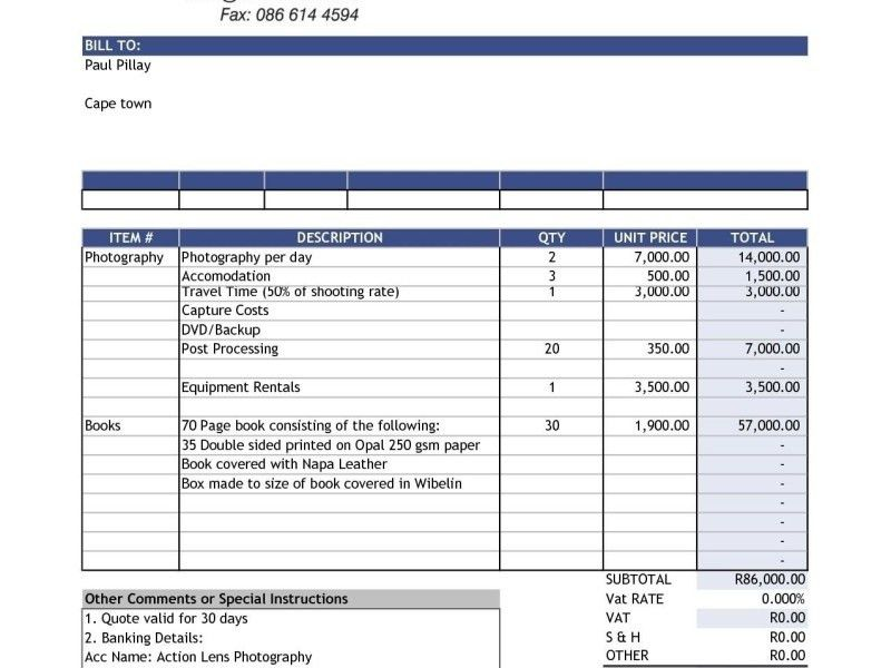 car sales invoice template free download uk | Free Invoice