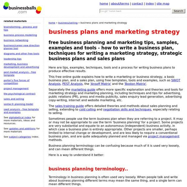 Marketing Business Plan Template. 8 Startup Business Plan Template ...