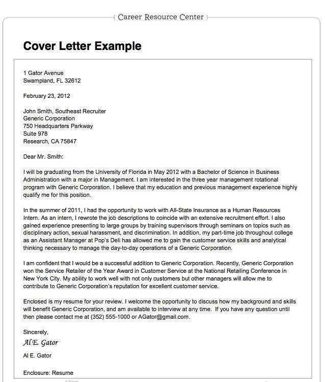 How To Write Resume Cover Letter - My Document Blog
