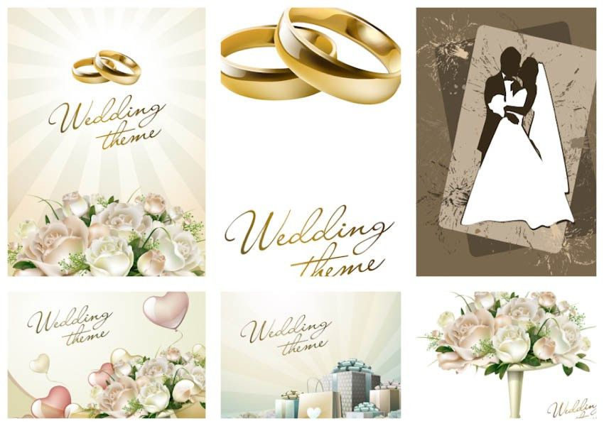 wedding | Free Stock Vector Art & Illustrations, EPS, AI, SVG, CDR ...