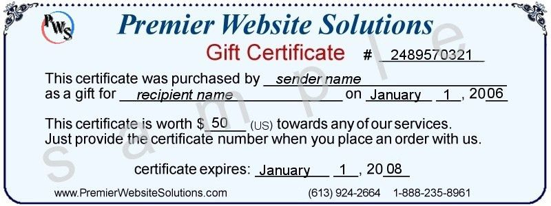 Printable gift certificate template cool Trials Ireland