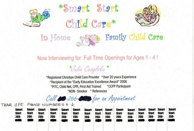 Advertising your Child Care business and getting result