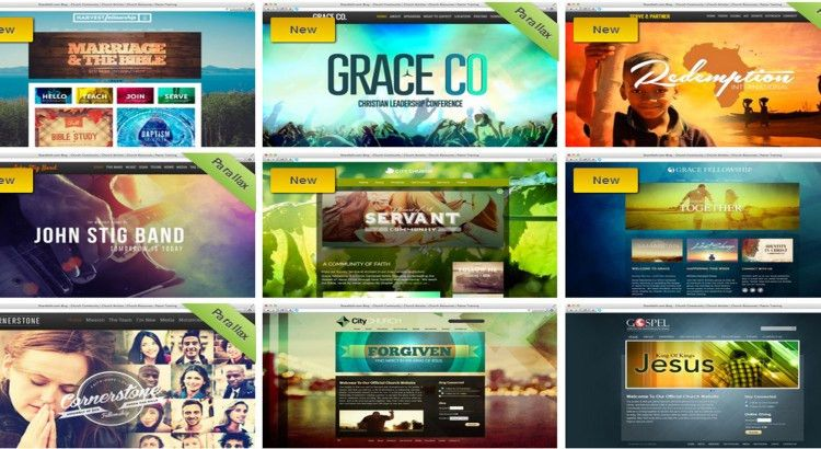 30 Best Church Website Templates for Ministry and Outreach ...