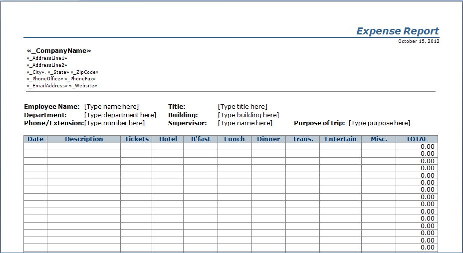 Business Visit Report Template. customer visit report template ...