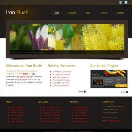 Html free website templates for free download about (185) free ...