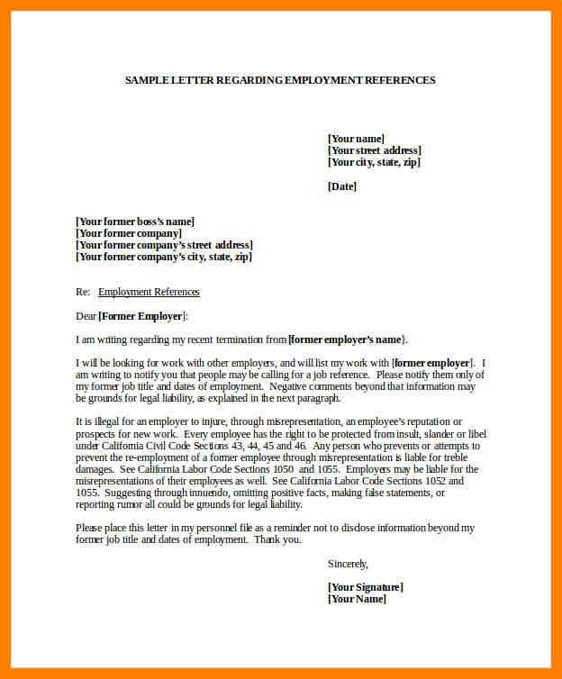 Sample Job Reference Letter. Sample Job Recommendation Letter Job ...