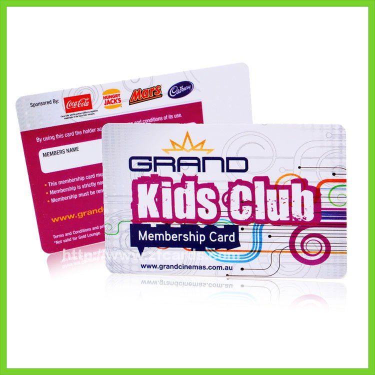 Custom Carnevale club memeber card from china Membership Card ...