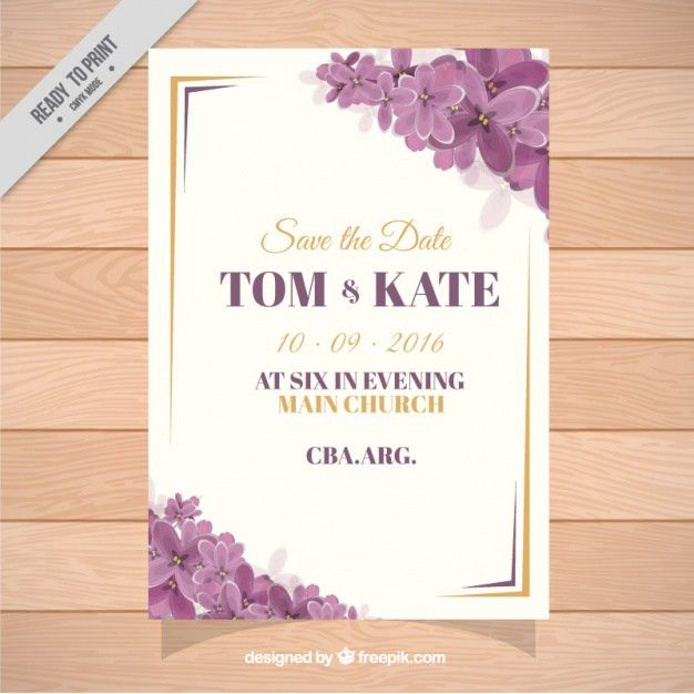Engagement Invitation Vectors, Photos and PSD files | Free Download