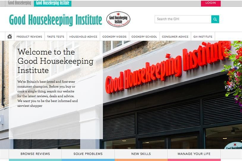 Hearst launches Good Housekeeping Institute online