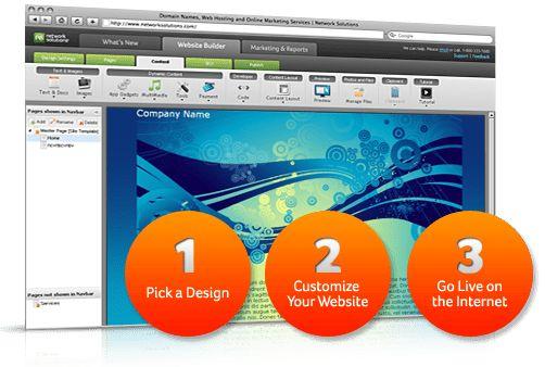 Web Design and Hosting Services | Website Builder ...