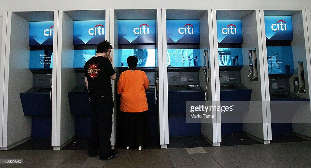 Citibank Atm Stock Photos and Pictures | Getty Images