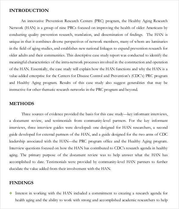 10+ Case Study Examples | Free & Premium Templates