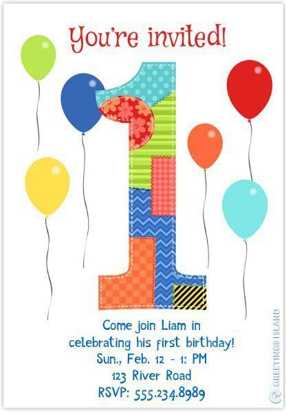 Birthday Invitation Templates – gangcraft.net