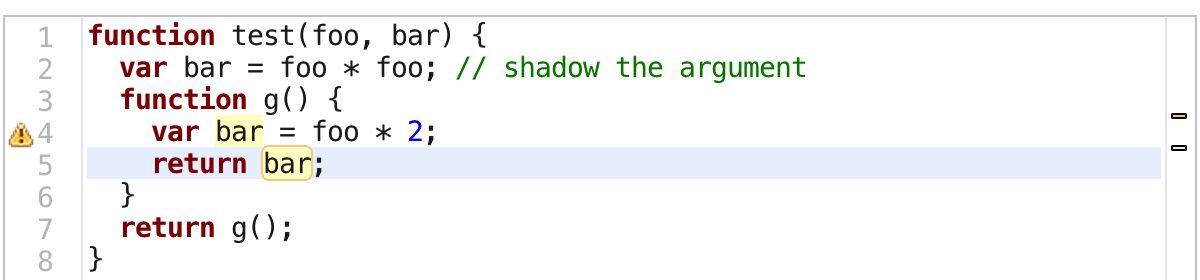 JavaScript Variable Scope and Highlight · ariya.io