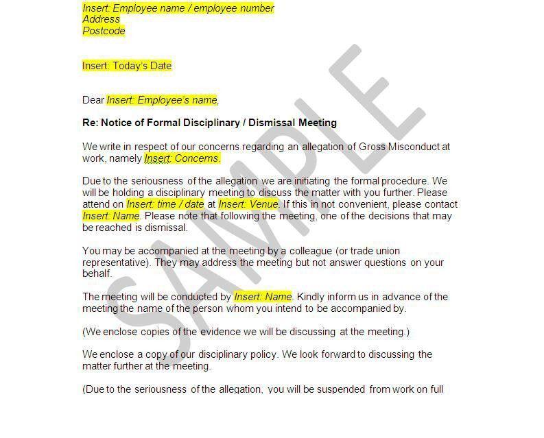 Dismissal Letter. Attendance Parent Letter Attendance Parent ...