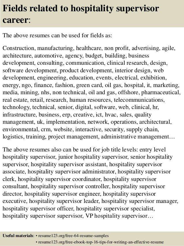 hospitality resume sample hospitality resume sample writing guide