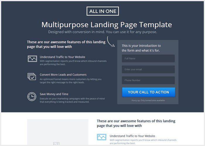 20+ Best Unbounce Landing Page Templates - Lunar Templates