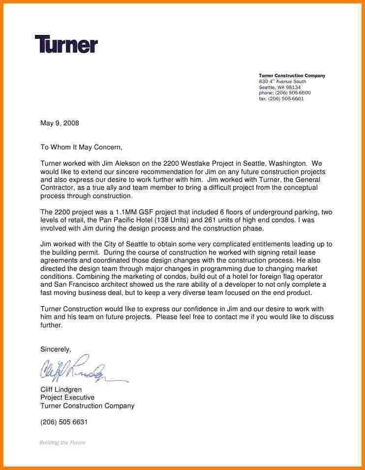 3+ Recommendation Letter Format | Sample Of Invoice