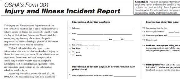 Incident Reporting Form. Incident Reporting Form Incident-Report ...