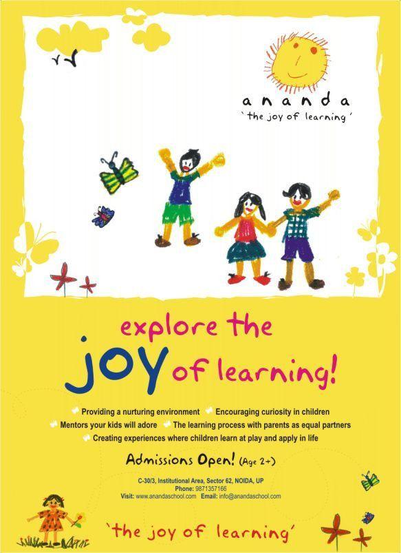 Ananda - playschool by Shilpi Boylla at Coroflot.com