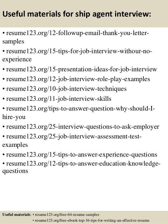 Ramp Agent Resume - Molrol.com