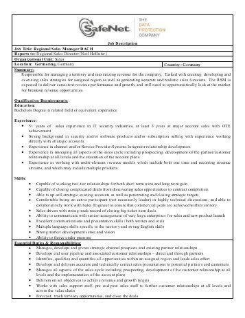 PROPERTY MANAGER Position Description Forward resume to hr ...