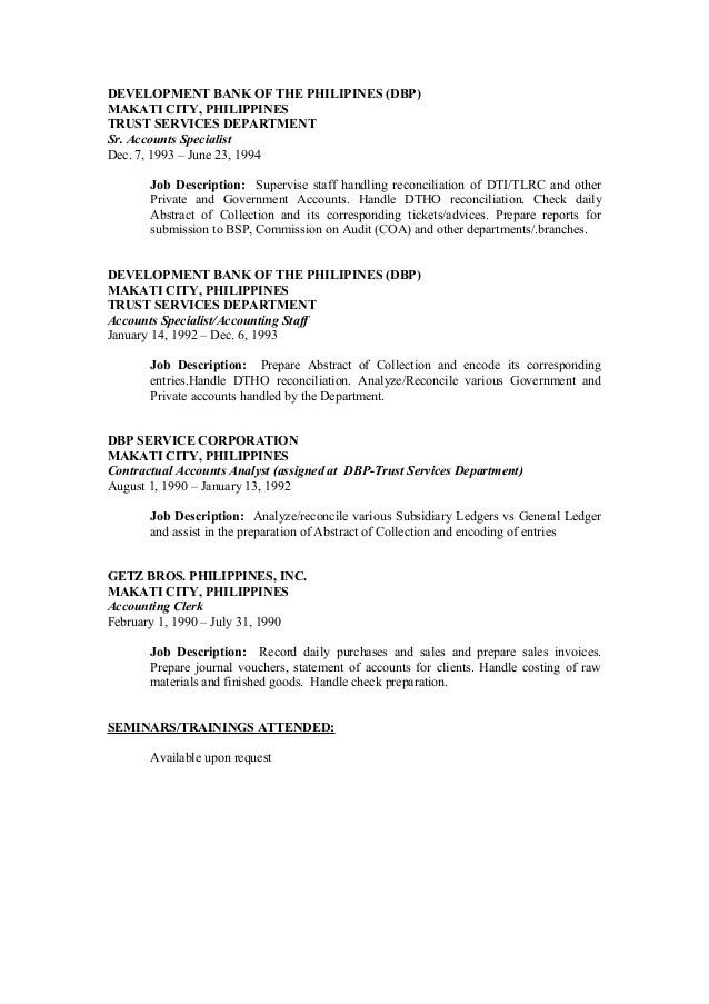 Detailed Resume Final Janet ACCOUNTANT