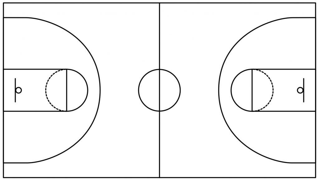 Best Basketball Court Clipart #5118 - Clipartion.com