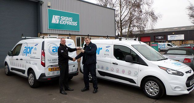 APR Telecoms Add 2 New Vans | Business Communication Specialists ...