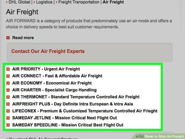 How to Ship Air Freight: 11 Steps (with Pictures) - wikiHow
