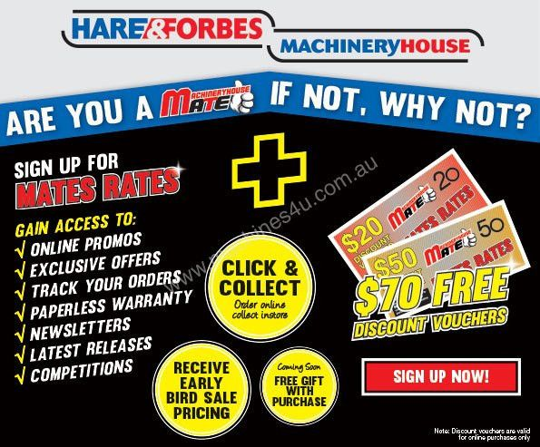 Machineryhouse Mates Receive $70 FREE Discount Vouchers + MORE ...