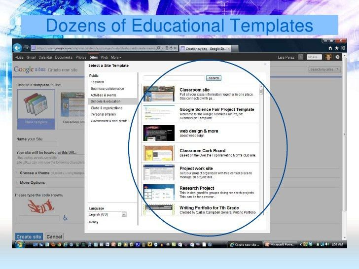 Get Going with Google Sites for Teachers